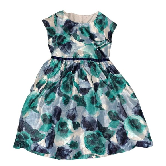 Gymboree floral print dress size 6